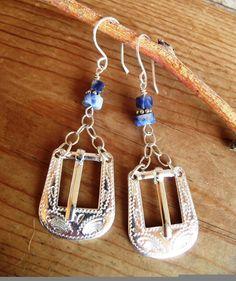 Cowgirl Buckle Earrings | Free Shippin on Western Jewelry