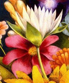 1941 Frida Kahlo Panier de fleurs, Détail l'oiseau, Basket ...