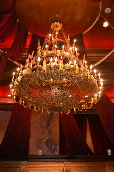 The Million Dollar Chandelier.  The matching from the pair was in the Russian Embassy in Warsaw and is now at Neverland Ranch