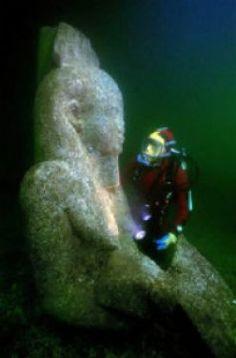 Sunken treasures in Egypt