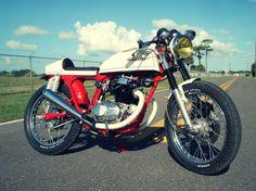VINTAGE HONDA CB200T CAFE RACER   Custom Motorcycles & Classic Motorcycles - BikeGlam