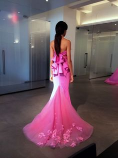 Vera Wang - dress, pink to possible wedding dress for the ladies.