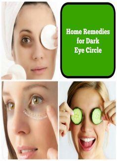 Home Remedies for Eye Dark Circles | Health Villas
