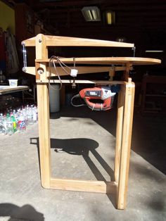 "Shop Made 25"" Scroll Saw - by William @ LumberJocks.com ~ woodworking community"