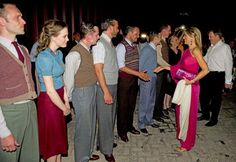 After the show Queen Máxima and King Willem-Alexander greeted the cast.