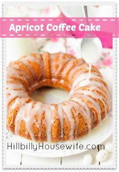 Apricot Coffee Cake Recipe - This is a Sunday favorite around here. Simple but yummy.