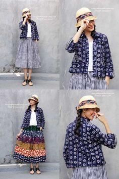 New Sewing Women Awesome Ideas Kebaya Lace, Batik Kebaya, Blouse Batik, Batik Dress, Mode Batik, Dress Brokat, Amarillis, Batik Fashion, Embroidery Fashion