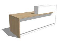 Reception Desk Design Custom 1