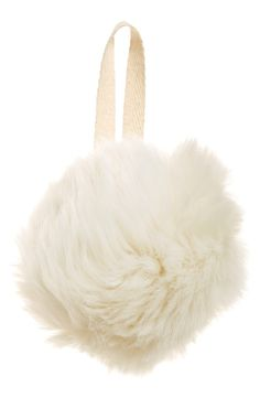 Nordstrom at Home 'Cuddle Up' Faux Fur Ornament