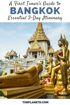 The ultimate city guide on how to spend 3 days in Bangkok, Thailand. A huge sprawling metropolis, th Bangkok Itinerary, Bangkok Travel, Thailand Travel, Asia Travel, Bangkok Trip, Laos Travel, Beach Travel, Solo Travel, Bangkok Hotel