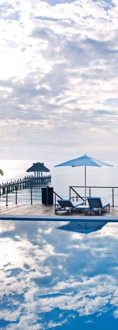 #Jetsetter Daily Moment of Zen: Blue Diamond Riviera Maya, in Maya Riviera #Mexico.