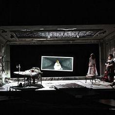 Salome @santafeopera Set Design Theatre, Stage Design, Sleep No More, Burning House, Design Research, Stage Set, Scenic Design, Beirut, Frankenstein
