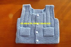 DİLMEN'İN ÖRGÜ BAHÇESİ: ATA YELEĞİ Knitting For Kids, Baby Kids, Vest, Sweaters, Jackets, Youtube, Women, Pandora, Gardening