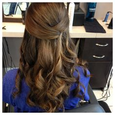 grad hair on pinterest 8th grade graduation waterfall