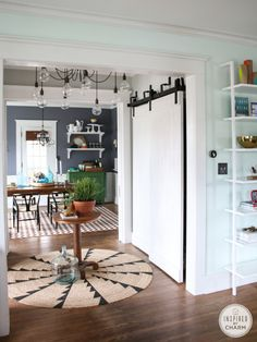 Sliding Barn Doors via Inspired by Charm