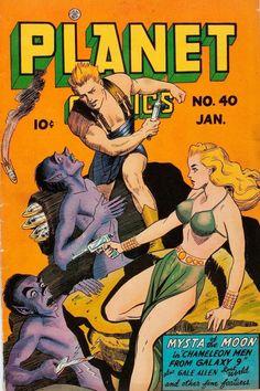 Planet Comics #40 (1946)