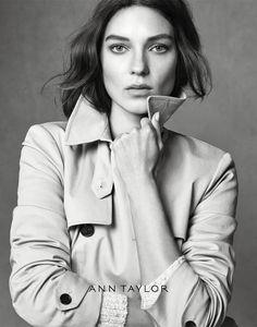Kati Nescher Pose on Ann Taylor Fall Icons 2015