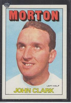 Morton 1972 Football Cards, Baseball Cards, John Clark, Sports, Soccer Cards, Hs Sports, Sport