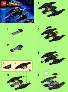 DC Comics Super Heros - Batwing [Lego 30301]