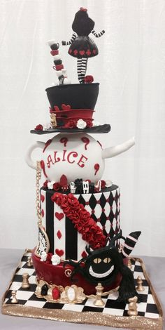 Alice cake, possible birthday cake