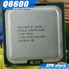 Intel Core 2 Quad Q6600 CPU Processor (2.4Ghz/ 8M /1066GHz) Socket 775 Desktop CPU (working 100% Free Shipping), sell Q6700