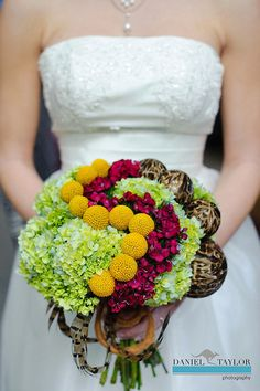 Earthy Pave Bouquet with feathers.