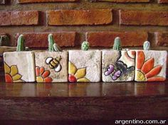 This stunning layered pottery will take your breath away CeramicHomeDecor Cera Ceramic Clay, Ceramic Painting, Ceramic Pottery, Mosaic Projects, Clay Projects, Mosaic Art, Mosaic Glass, Flower Pot Design, Cement Art