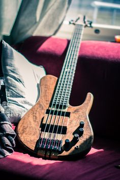 Jesse's (from MadCraft) Strage 5 String Bass, Too Expensive To Be Roadworned