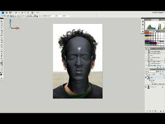 Here you will learn how to Texturing a head using Photoshop, with some advanced tools and some basic tools