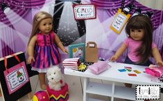 Camp Doll Diaries – Doll Sized Circus Printables — Doll Diaries