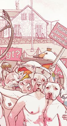 Illustrations 2012 by Bartosz Kosowski, via Behance