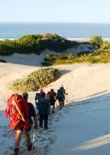 Shipwreck Hiking and Canoe Trails - Eastern Cape. Enjoy this hiking/canoeing combination from Port Alfred to the Fish River mouth.    Hike along the coast, over farmland and through riverine valleys with 5 unique huts, as well as a game reserve.