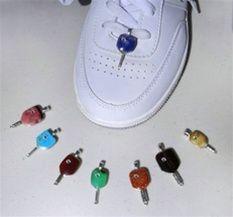 Pickleball Paddle Shoe Charm | PickleballCentral.com