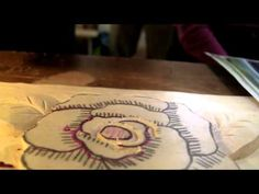 Chapter 2 - Carving a Camellia Flower - YouTube