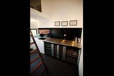 The Block ~ Brad and Lara's Utility Room. Love the wine fridges