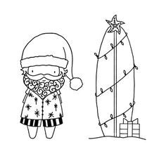 Image result for surfin santa ctmh
