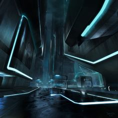 dylan cole _ tron legacy concept