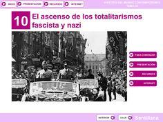 Tema 10. El ascenso de los totalitarismos by José Antonio Arjona Muñoz via slideshare
