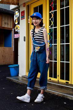 On the street... Yeji Song Busan | echeveau