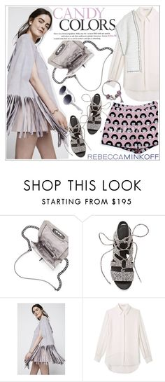 """Be the First to Style Rebecca Minkoff's Spring 2016 Collection!"" by teoecar ❤ liked on Polyvore featuring Rebecca Minkoff, women's clothing, women, female, woman, misses, juniors, contestentry, seebuywear and rmspring"