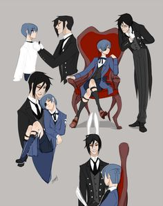 You right anon! No worries, here are some master-butler sketchy ones.©Yana Toboso