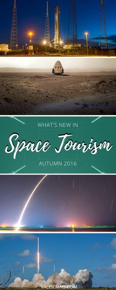 In this quarterly roundup, I pull together the top Space Tourism News from around the internet. Covering news & headlines from September to December 2016.