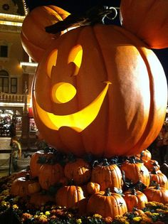 Halloween time at disneyland by ShawnaScottPhoto, via Flickr