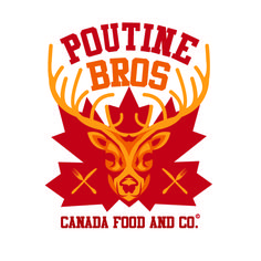 logotype poutine bros canadian food and co logotypes pinterest. Black Bedroom Furniture Sets. Home Design Ideas