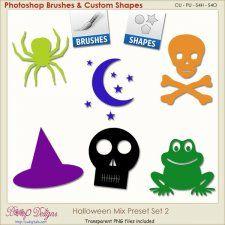 Halloween Mix PRESETS 02 cudigitals.com cu commercial scrap scrapbook digital graphics#digitalscrapbooking #photoshop #digiscrap