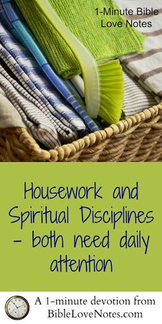 This 1-minute devotion shares the key to finding joy in our daily routines and especially in our spiritual disciplines.