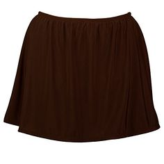 Womens Plus Size Swim Skirt with Built in Panty *** Click image to review more details.