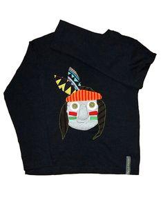 camiseta INDIO de menudatela por DaWanda.com