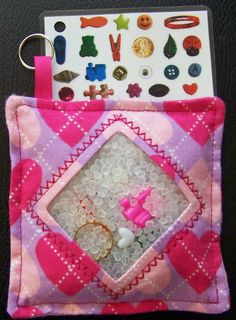 """Easy """"I Spy"""" gift to make! @Emily Coury Alexander This would be great for the office!"""