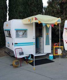 Vintage 1961 Lil Loafer trailer only 6 1/2 ft long